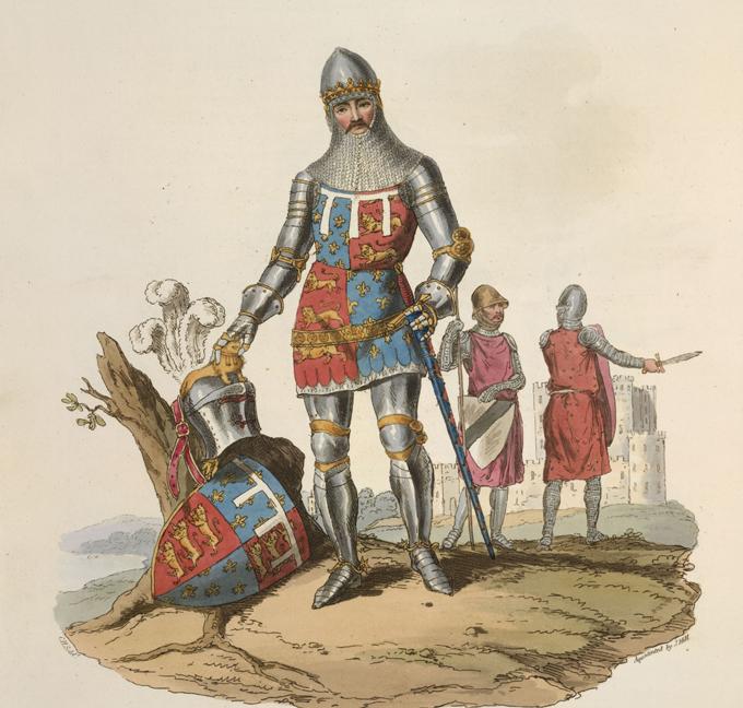 La France a besoin des chevaliers. Edouard, le Prince Noir