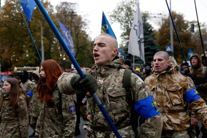 Les Américains transforment l'Ukraine en IV Reich