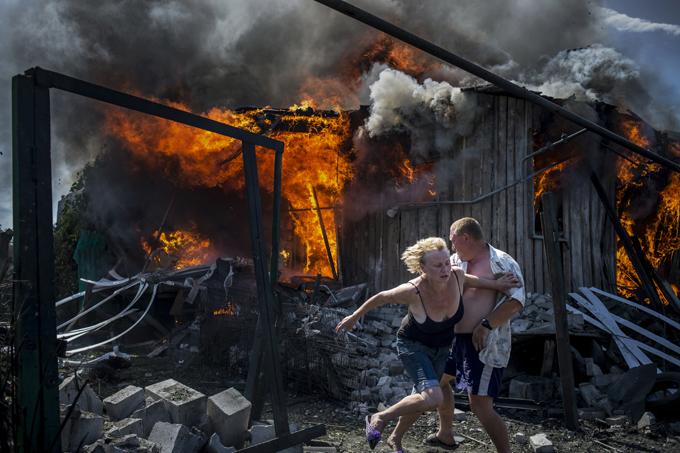 Ukraine: photos du front