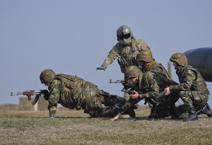 OTAN: la tempête de printemps en Roumanie