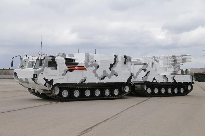 Les premières photos du matériel militaire arctique russe