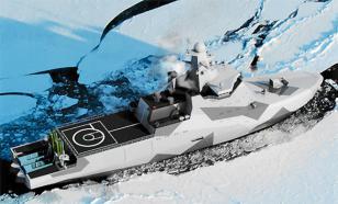 La Russie équipe ses brise-glaces de canons furtifs