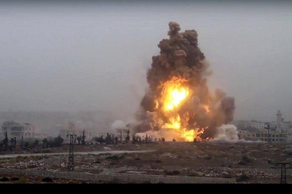 130 missiles syriens ont anéanti une base de Daech (Vidéo)