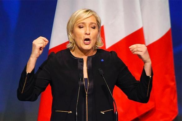 Le Pen est d'accord avec Moscou sur l'Ukraine