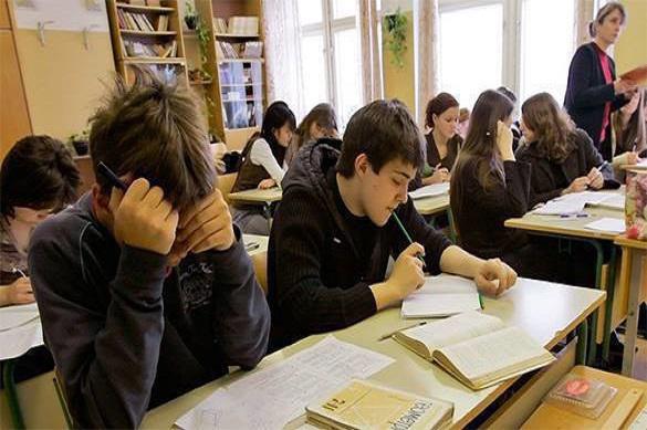 Les enfants russes se préparent à la guerre