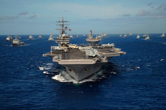 La flotte de combat de la Chine s'est rapprochée de la côte des Etats-Unis