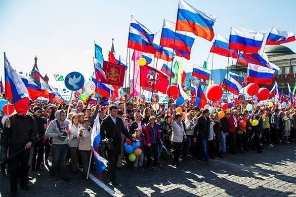 Les Russes sont fiers de leur pays