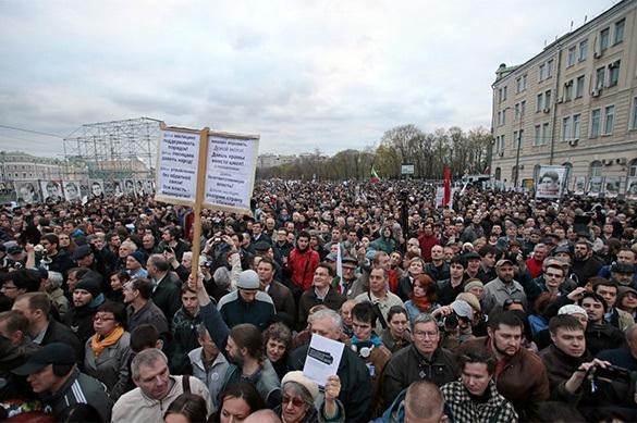 L'opposition de malheur russe n'espère plus provoquer un Maïdan