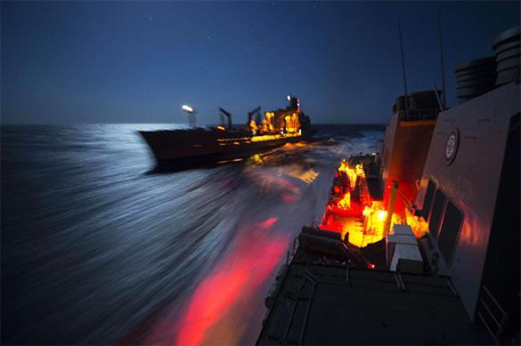 Un destroyer américain a accédé à la Mer Noire