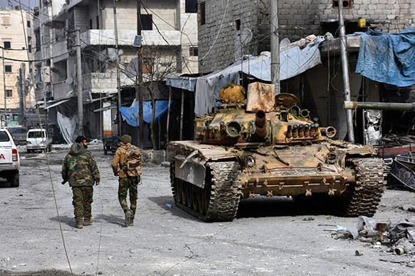 Ensemble avec les Forces aérospatiales russes, l'armée syrienne a libéré Alep