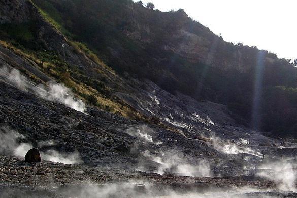 Le magazine Nature: un super-volcan peut exploser en plein centre de l'Europe