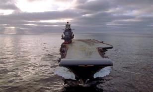 La Défense de la Grande-Bretagne a insulté le porte-avions russe
