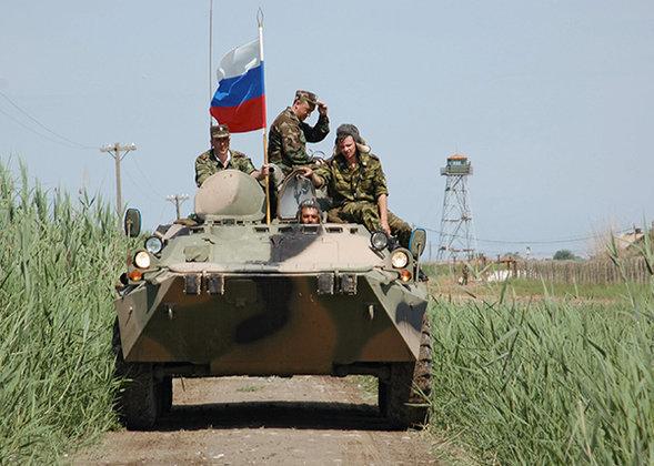 L armée de terre russe au combat