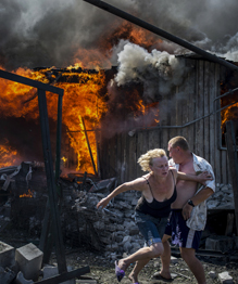 Ukraine: photos du front