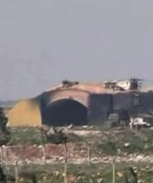 La base aérienne de Shayrat après l'attaque US